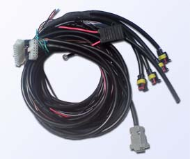Wiring and cables for LPG/CNG controller BLUETRONIC 4.4LC